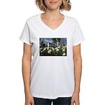 G.Michael Brown Women's V-Neck T-Shirt