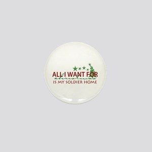 All I want for Christmas Mini Button