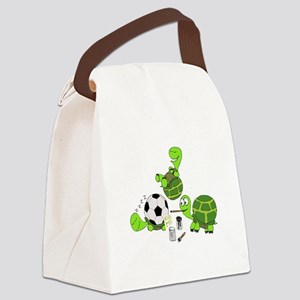 Kick Me Canvas Lunch Bag