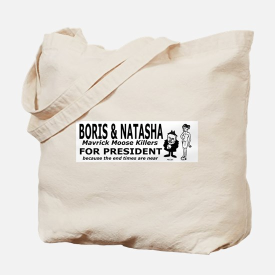Boris and Natasha for Preside Tote Bag