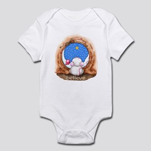 Mouse Waiting For Christmas Infant Bodysuit