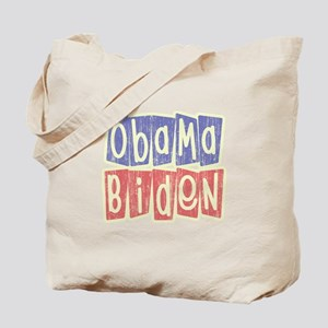 Retro Obama Biden Logo Tote Bag