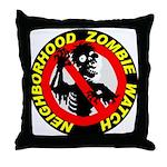 NEIGHBORHOOD ZOMBIE WATCH Throw Pillow