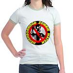 NEIGHBORHOOD ZOMBIE WATCH Jr. Ringer T-Shirt