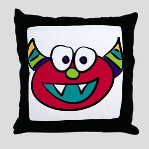 Everything Monsters: Weezie Throw Pillow