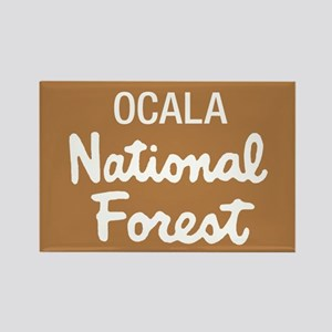 Ocala National Forest (Sign) Rectangle Magnet
