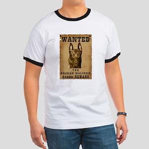 """Wanted"" Belgian Malinois Ringer T"