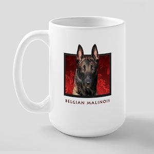 Belgian Malinois Large Mug