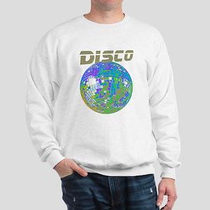 Blue-Green Disco Ball Sweatshirt