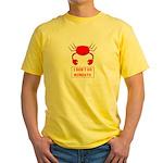 I DON'T DO MONDAYS! Yellow T-Shirt