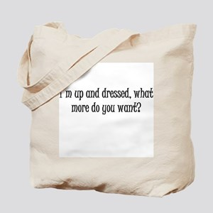 Up and Dressed Tote Bag