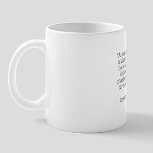 """A man is no less a slave..."" Coffee Mug"