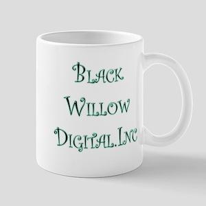 """""""Black Willow"""" Swirly Mug"""