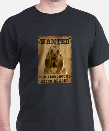 """Wanted"" Bloodhound T-Shirt"