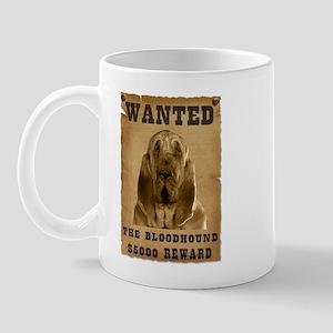 """""""Wanted"""" Bloodhound Mug"""