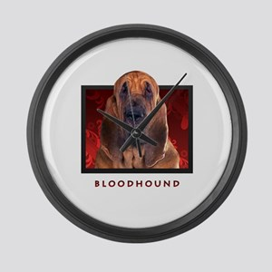 Bloodhound Large Wall Clock