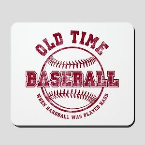 Old Time Baseball Mousepad