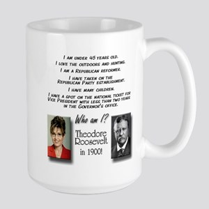Palin & Roosevelt Large Mug