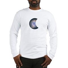 MOON DYEING SUN DESIGN Long Sleeve T-Shirt