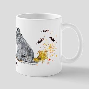 Schnauzer Halloween Tricks Mug