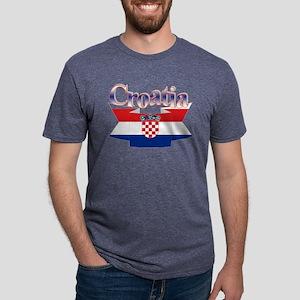 Cute Croatia ribbon T-Shirt