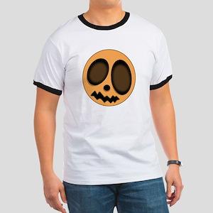 """Pumpkin Head"" Ringer T"