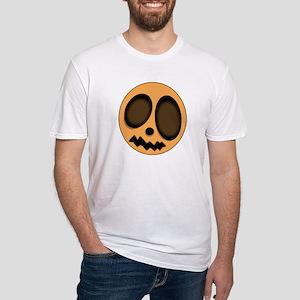 """""""Pumpkin Head"""" Fitted T-Shirt"""