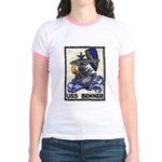 USS BENNER Jr. Ringer T-Shirt