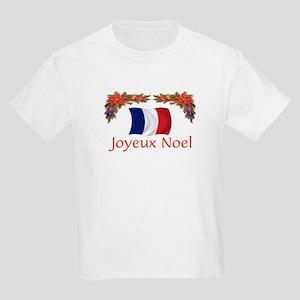 France Joyeux Noel 2 Kids Light T-Shirt