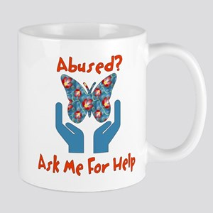 Domestic Violence Help Mug