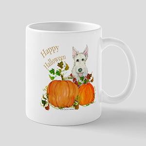 Autumn Scottie Wheaten Mug