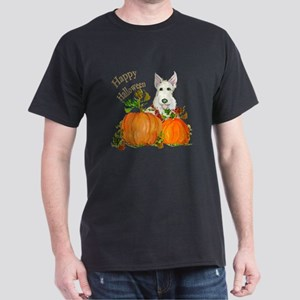 Autumn Scottie Wheaten Dark T-Shirt