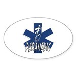 Paramedic Action Sticker (Oval 50 pk)