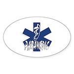 Paramedic Action Sticker (Oval 10 pk)