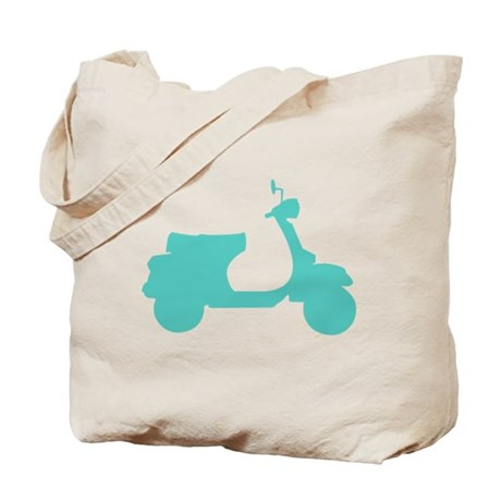Motor Scooter Tote Bag