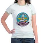 USS BON HOMME RICHARD Jr. Ringer T-Shirt