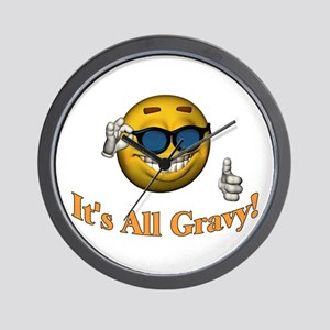 All Gravy Wall Clock