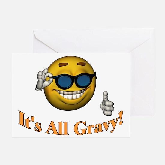 All Gravy Greeting Card