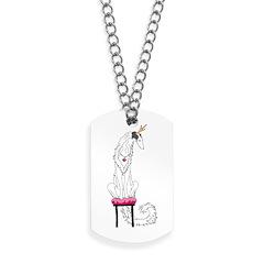 Borzoi Princess Silver Sable Dog Tags