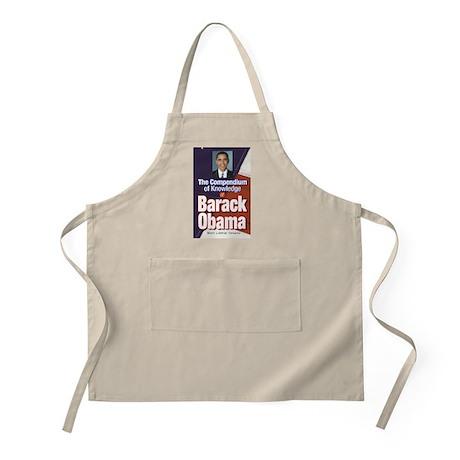 Barack Obama: Compendium of Knowledge BBQ Apron
