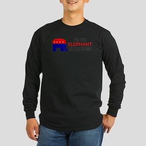 REPUBLICAN ELEPHANT SYMBOL GO Long Sleeve Dark T-S