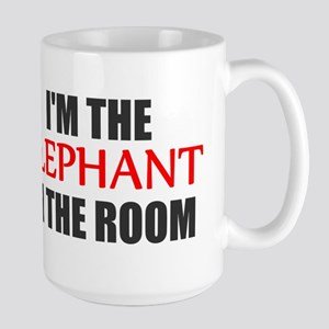 REPUBLICAN ELEPHANT SYMBOL GO Large Mug
