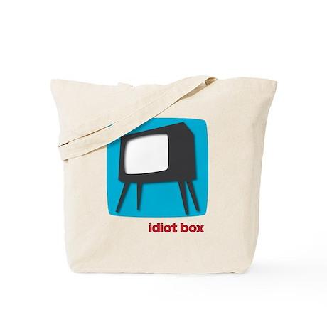 Idiot Box Tote Bag