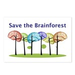 Brain Forest Postcards (package Of 8)