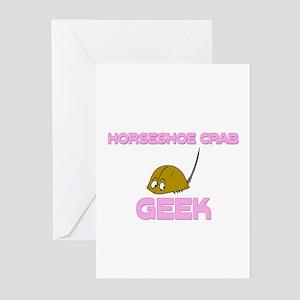 Horseshoe Crab Geek Greeting Cards (Pk of 10)