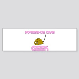 Horseshoe Crab Geek Bumper Sticker