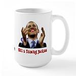 Obama Lipstick Jackass Large Mug