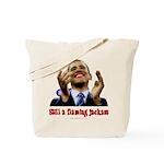 Obama Lipstick Jackass Tote Bag