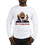 Obama Lipstick Jackass Long Sleeve T-Shirt