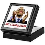 Obama Lipstick Jackass Keepsake Box